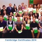 Verleihung der Cambridge Zertifikate am WIFI Kärnten