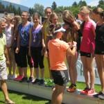 Ausgezeichnete Leistungen bei der Leichtathletik – Bezirksmeisterschaft 2015