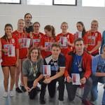 2.Platz bei den Landesmeisterschaft Volleyball 2016