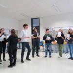 Atelier de théâtre avec / Theaterworkshop mit  Claire TUDELA