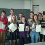 Verleihung der Diplome zur 42. Österreichischen Chemieolympiade.