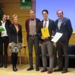Sieg und zwei Podestplätze beim AHS-Fremdsprachenwettbewerb