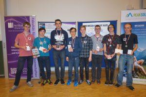 Siegerteam beim Schülercontest