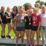 4 X Gold bei der Leichtathletik – Bezirksmeisterschaft 2017