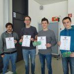 """16. Jänner 2018: Internationaler Mathematik – Teamwettbewerb """"Bolyai"""": 2 Teams qualifizierten sich für das Finale in Budapest"""
