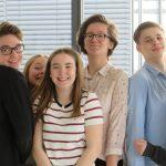 """2- tägiges """"Atelier de Théâtre"""" für die 6AB (WAT) und 7AB (GRF) mit Claire Tudela"""