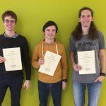 Ausgezeichnete Leistungen beim Physikolympiade – Landeswettbewerb 2018