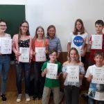 Zweiter Platz beim Mathematischen Zehnkampf 2018