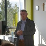 Politologe Univ.Prof. Dr. Anton Pelinka zu Gast am Gymnasium Villach St. Martin