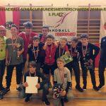 3. Platz bei den Bundesmeisterschaften im Minihandball-Schulcup 2018