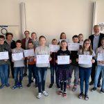Sensationeller Erfolg beim Computerwettbewerb BIBER der Informatik