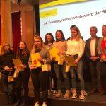 24. Fremdsprachenwettbewerb der Stadt Villach: Großer Erfolg in Französisch