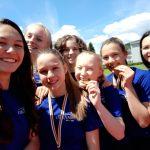 Landesmeister bei den Leichtathletik –  Schul Olympics  der Oberstufe