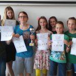 Sieg beim Mathematischen 10-Kampf für das Team des BG/BRG St. Martin