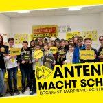 """Realbegegnung """"Antenne macht Schule"""""""