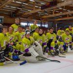 Erfolgreiche Titelverteidigung im Eishockey