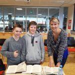Sonja Kaiblinger zu Gast in der Schulbibliothek