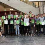 Verleihung der Cambridge Zertifikate (Cambridge Advanced Exam)